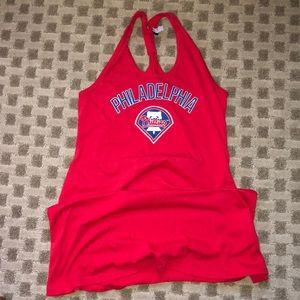 Philadelphia Phillies MLB summer beach dress shirt